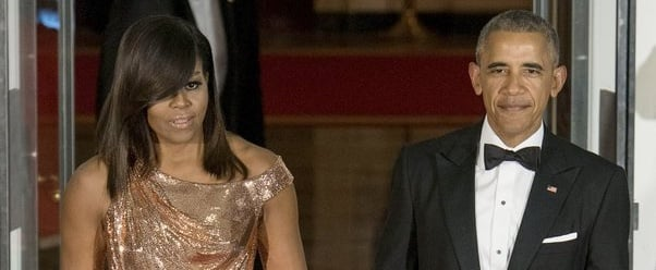 Donatella Versace Had This to Say About Michelle Obama's Iconic State Dinner Gown