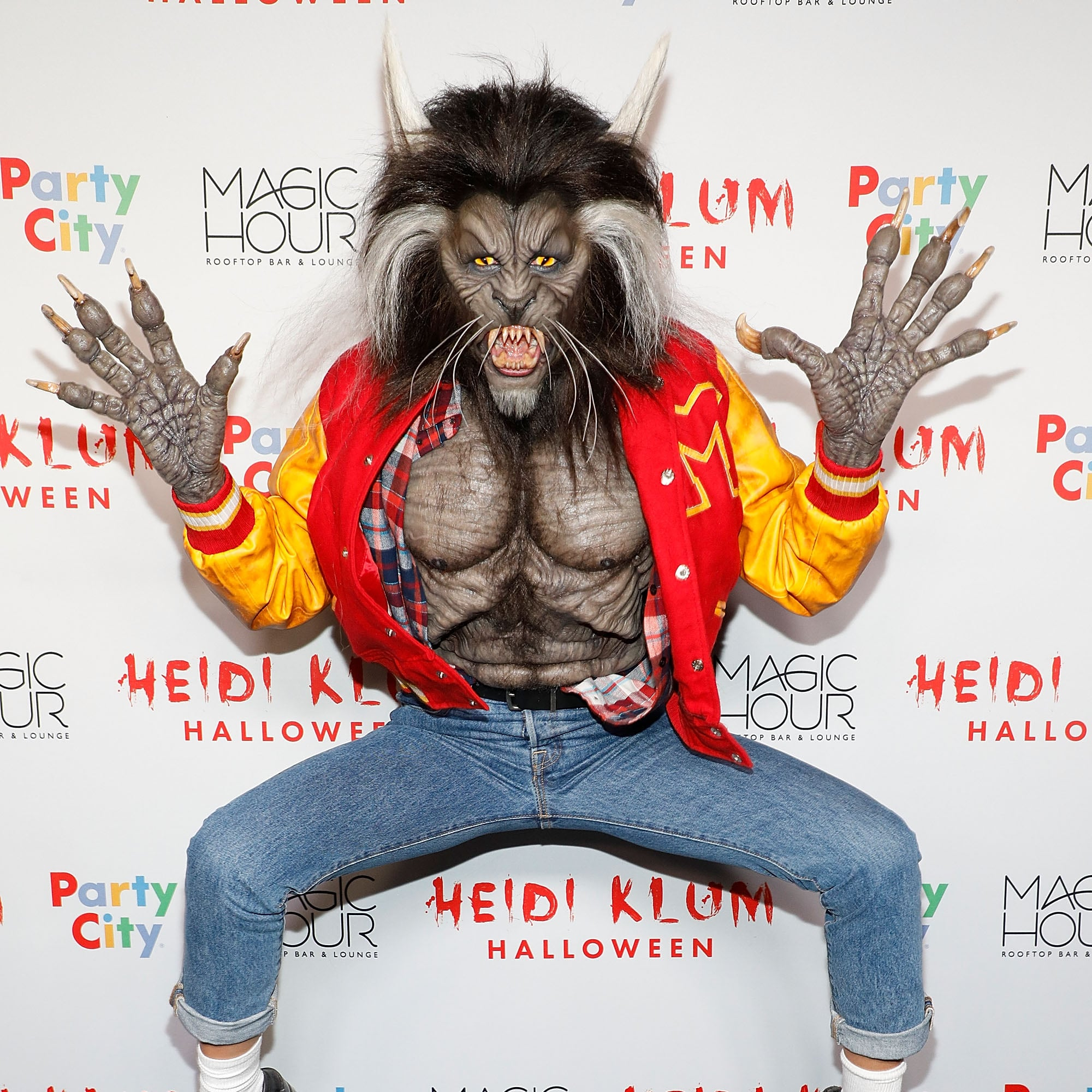 Heidi Klum Monkey Halloween Costume.Heidi Klum S Halloween Costumes Through The Years Popsugar Celebrity