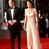 Kate Middleton and Prince William at the 2020 BAFTAs