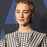 Saoirse Ronan's Tinsel Braids