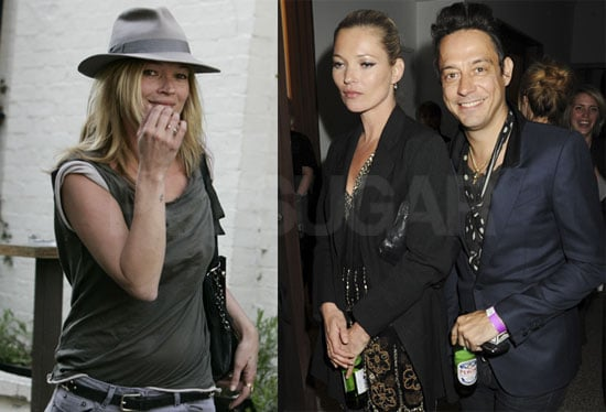 Pictures of Kate Moss And Jamie Hince Together Partying