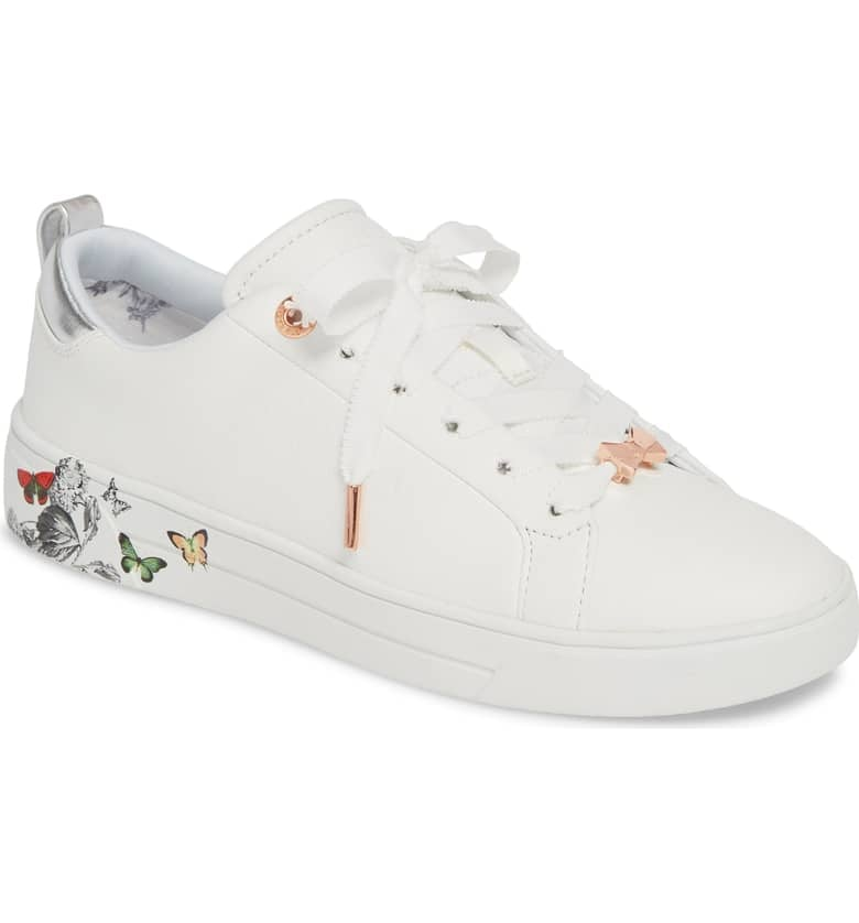 754ab77b4588 Ted Baker London Mispir Print Lace-Up Sneakers