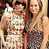 Anna Wintour and Jennifer Meyer each showed off their ladylike sheaths.