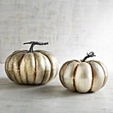 Pier 1 Imports Aged Silver Pumpkins