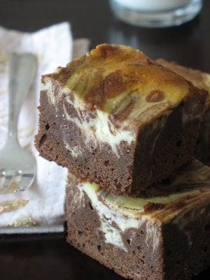 Yummy Link: Marbled Ricotta Cheesecake Brownies   POPSUGAR Food