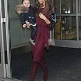 Harper and Victoria Beckham