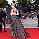 Jennifer Lawrence Makes Her First Red Carpet Appearance With Darren Aronofsky