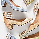Glitter Lana Block Heels