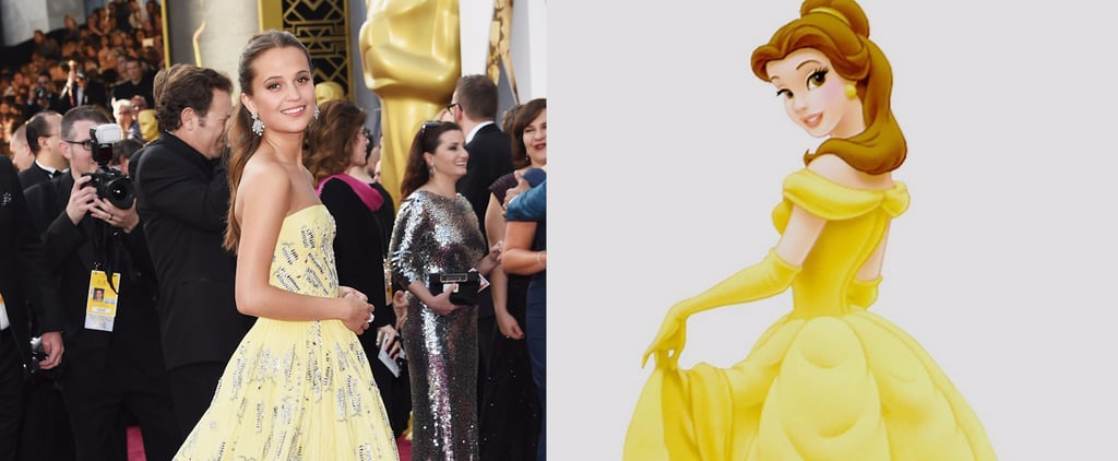 7 Stars Who Channeled Disney on the Oscars Red Carpet