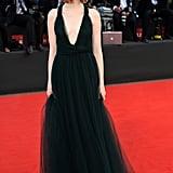 Emma Stone at the Birdman Premiere During the Venice Film Festival in 2014
