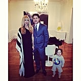 Skyler Berman helped his mom and dad, Rachel Zoe and Roger Berman, celebrate The Zoe Report's birthday. Source: Instagram user rachelzoe