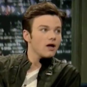 Chris Colfer Talks About His Dog