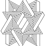 Get the coloring page: Triangles
