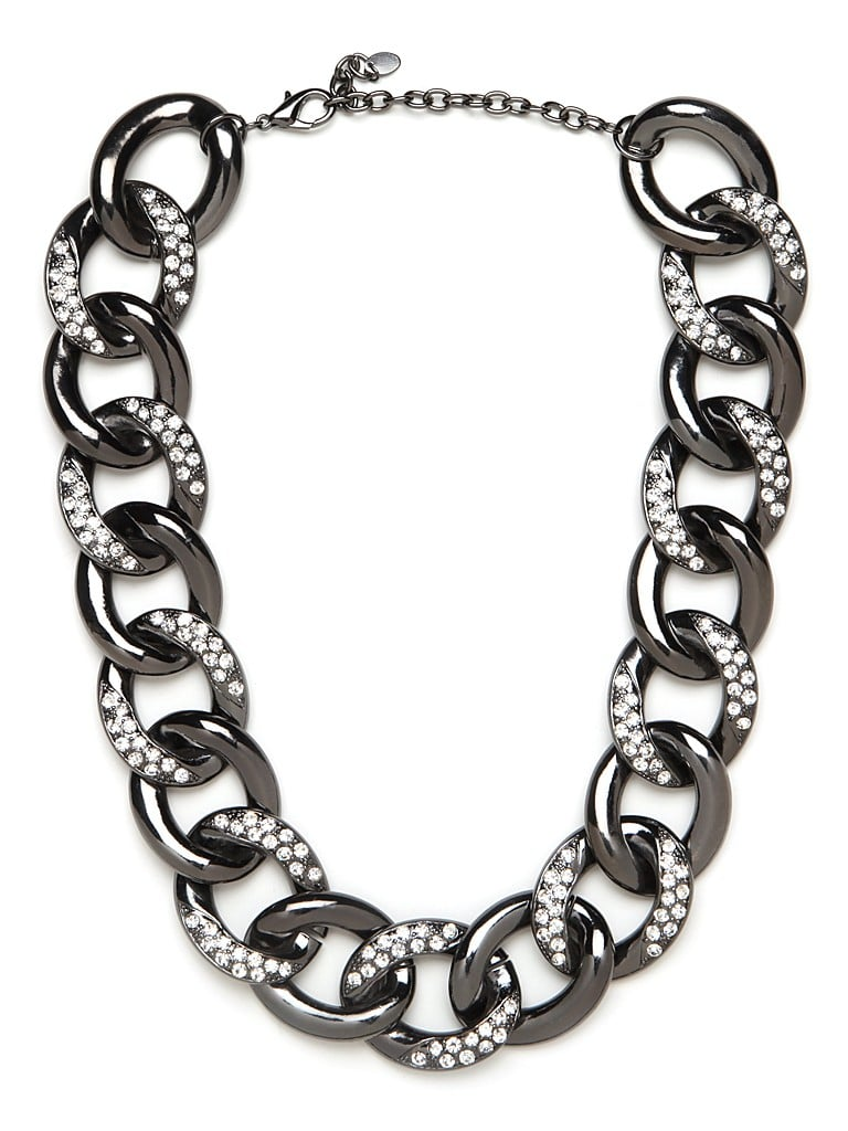 Pair this Bauble Bar Hematite Curb Collar ($38, originally $56) with a white collared shirt for a new twist on your 9-to-5 staple.