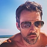 Brad Goreski snapped a selfie while lounging on the beach. Source: Instagram user mrbradgoreski