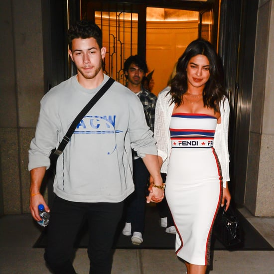 Priyanka Chopra's White Dress With Nick Jonas at US Open