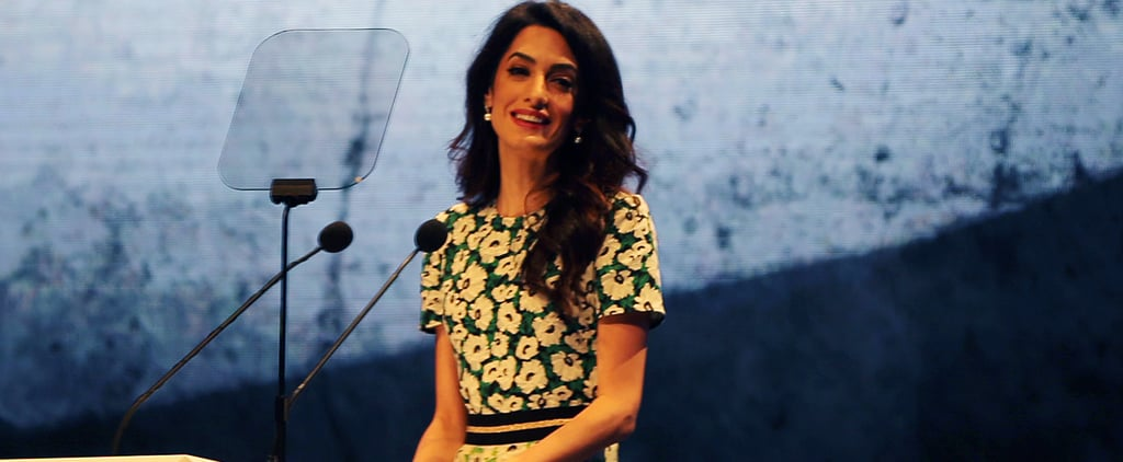 Amal Clooney Just Wore the 1 Dress Style You Need This Spring