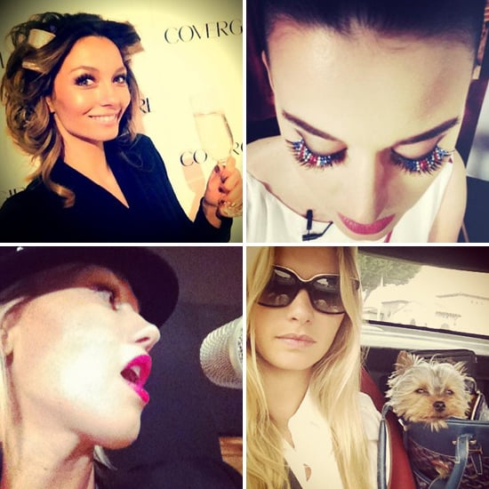 Celebrity Twitter and Facebook Photos Posted By Ricki-Lee Coulter, Rihanna, Lara Bingle and More