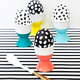 Graphic Eggs and Egg Cups