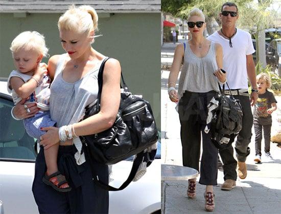 Pictures of Gwen Stefani, Gavin, Zuma, and Kingston Rossdale Spending the Weekend in LA