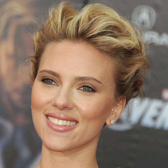 Scarlett Johansson's Avengers Premiere Beauty Look