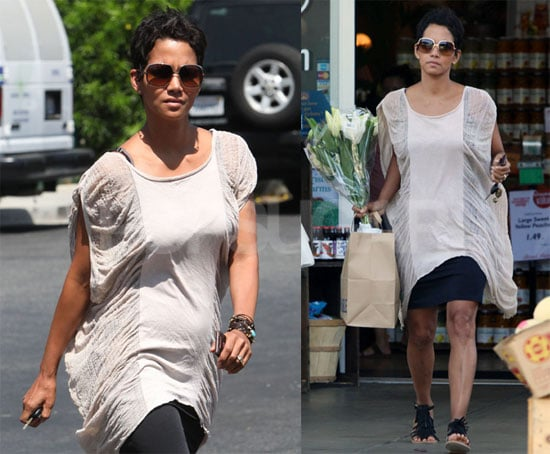 Photos of Halle Berry at the Grocery Store
