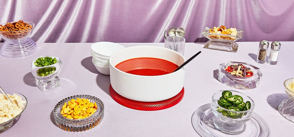 A Creative Dinner Setup for Cooking at Home