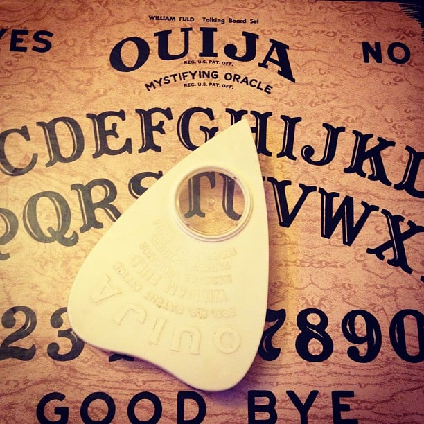 Playing With Ouija Boards at Sleepovers
