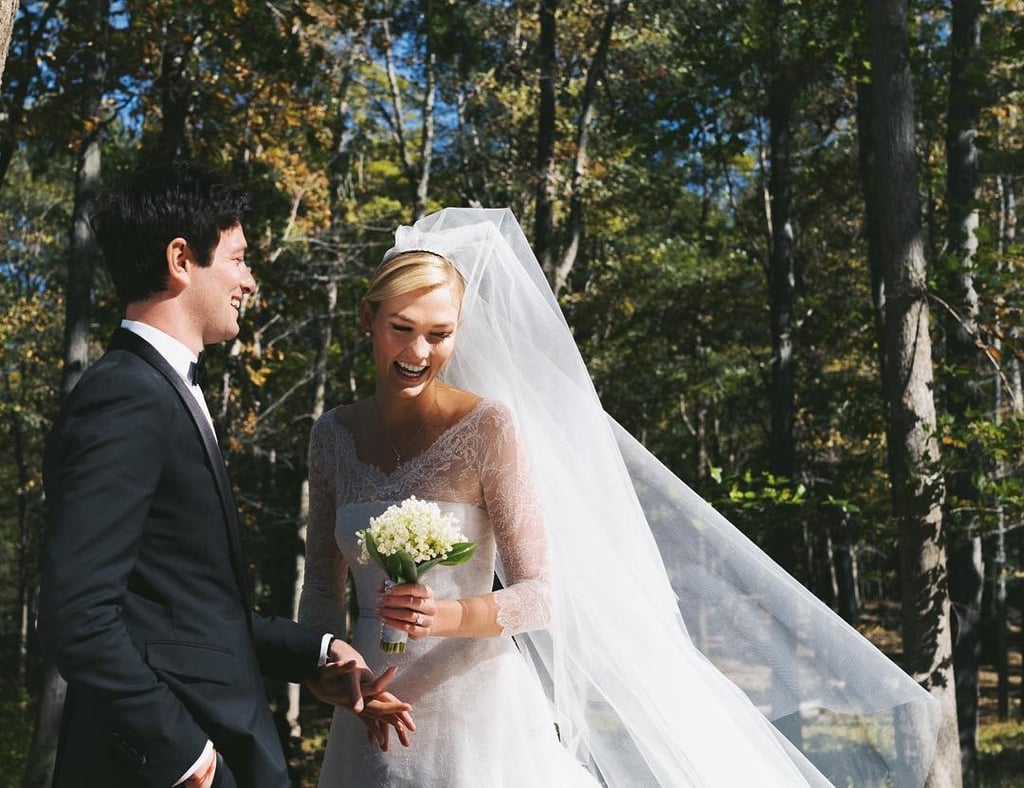 Karlie Klosss Dior Wedding Dress Popsugar Fashion Australia