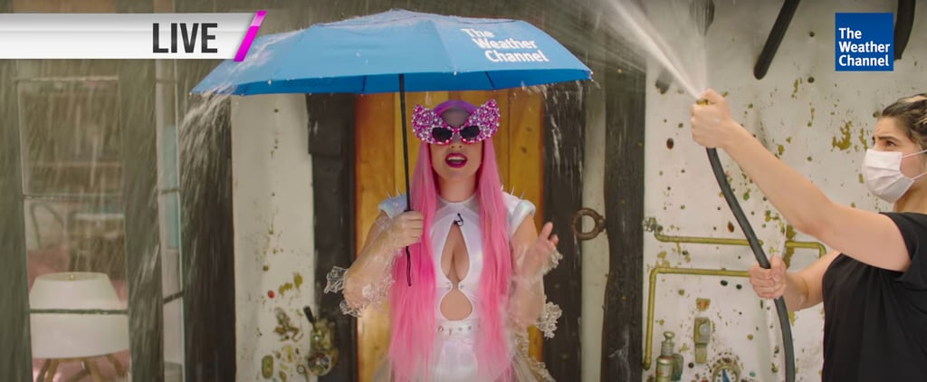 Lady Gaga and Ariana Grande Chromatica Weather Girls Video