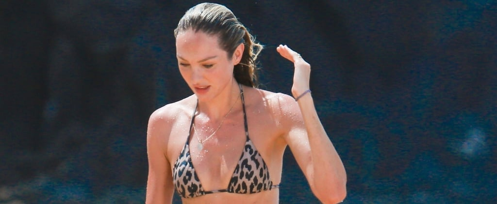 Candice Swanepoel's Leopard Bikini Is Hotter Than All the Lingerie You've Seen Her Wear