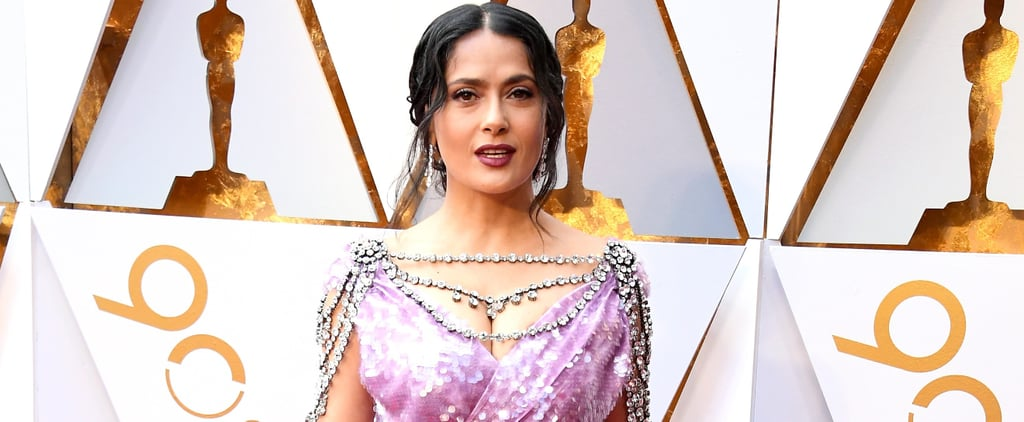 Salma Hayek Looks Like She Just Walked Out of a Damn Disney Princess Parade in This Dress