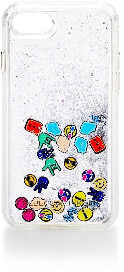 Rebecca Minkoff Emojis Glitterfall Case For iPhone 7