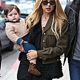 Skyler Berman was by his mom Rachel Zoe's side in LA.