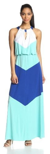 London Times Colorblock Maxi
