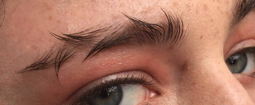 Barbed Wire Eyebrows Might Be the Messiest Instagram Trend You've Ever Seen