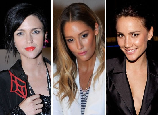 Pictures of Front Row Celebrities From 2011 RAFW at Shakuhachi and camilla and marc