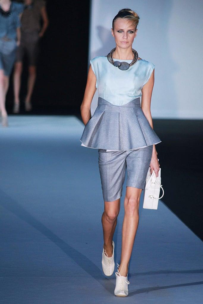 Spring 2011 Milan Fashion Week: Emporio Armani