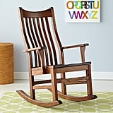 The Land of Nod Classic Wooden Rocker