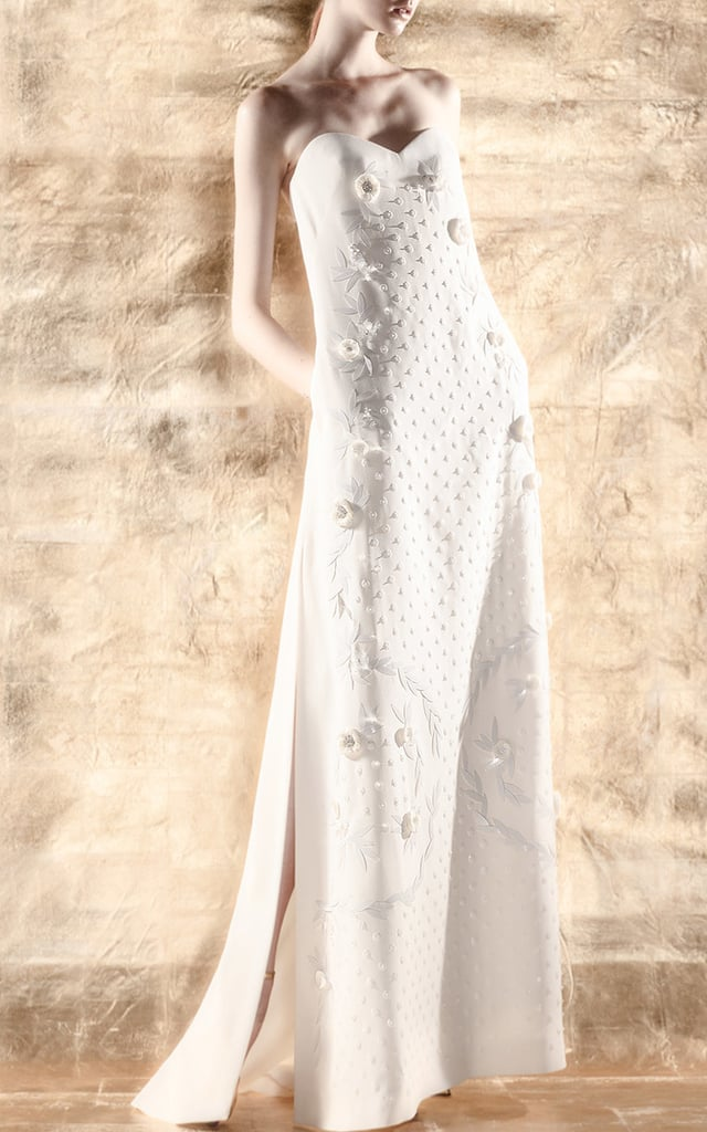 Delpozo Appliqué Dress
