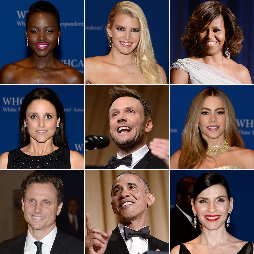 Stars Set DC Aglow at the White House Correspondents' Dinner