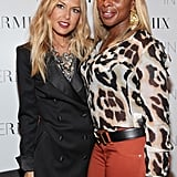 Rachel Zoe and Mary J. Blige flaunted their blond locks at Fashion's Night Out.
