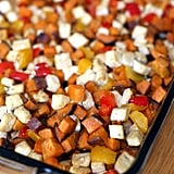 Roasted Tofu, Sweet Potato, and Pepper 1-Pan Meal