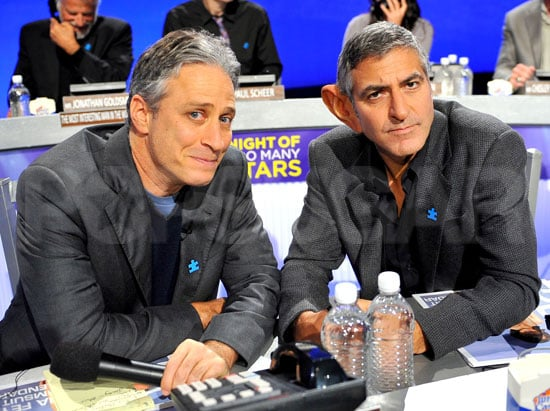 Pictures of Jon Stewart, George Clooney, Zach Galifianakis at Comedy Central's Telethon For Autism Education