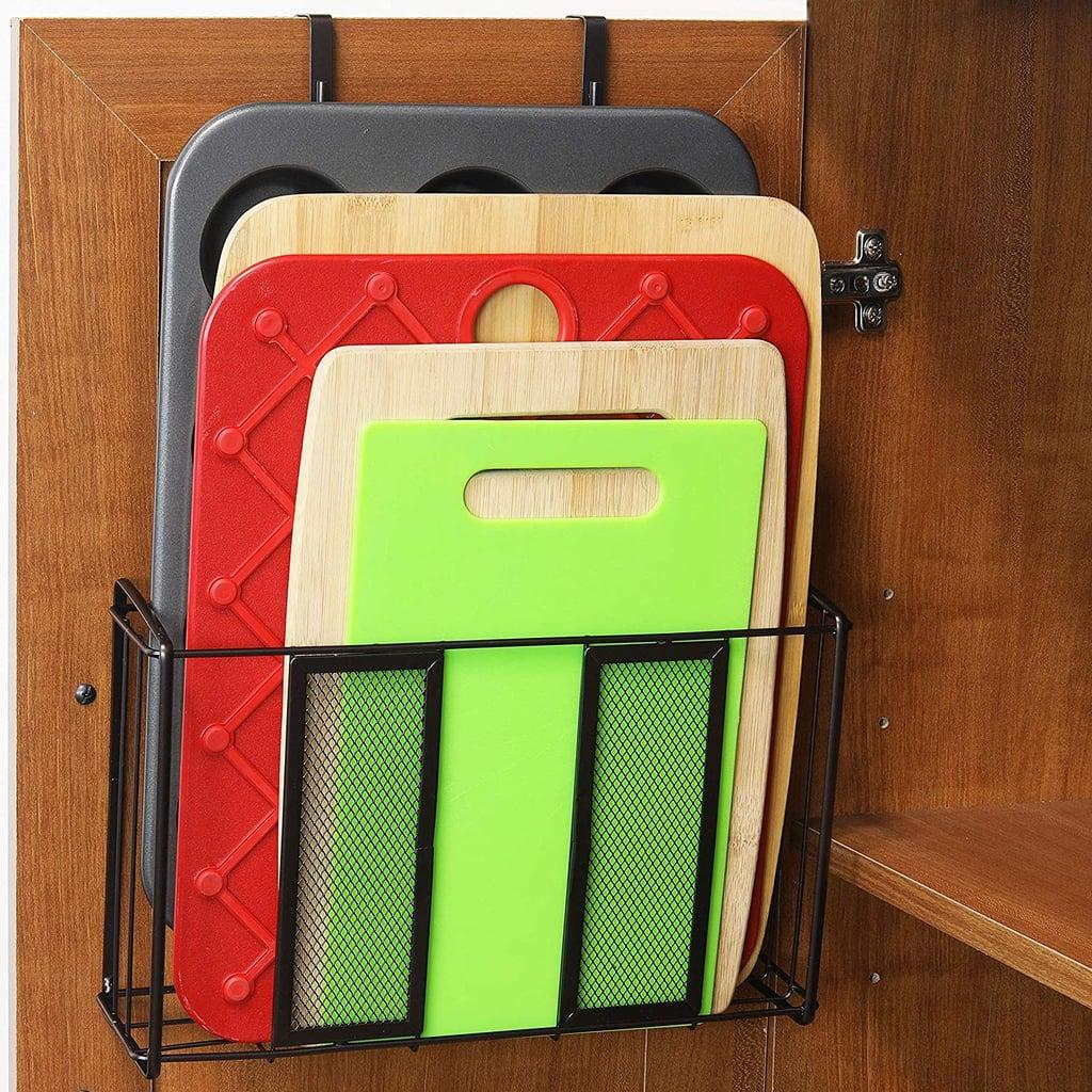 SimpleHouseware Over Cabinet Door Organizer