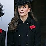 Kate wearing Diane von Furstenberg in November 2011.