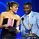Carmen Ejogo and David Oyelowo