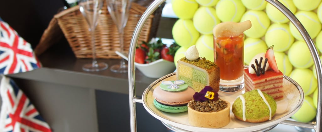 Wimbledon-Inspired Afternoon Tea