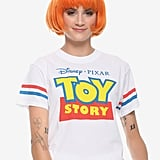 Disney Pixar Toy Story Logo Girls Athletic T-Shirt