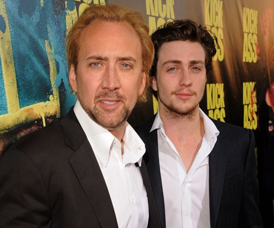 Slide Picture of Nicolas Cage at Kick Ass Premiere